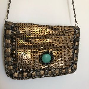 Urban Outfitters Kimchi Blue Embellished Purse
